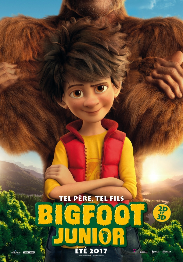 Bigfoot Junior affiche